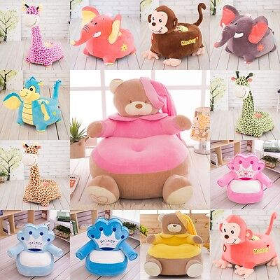 NEW cute kid children animal sofa Arms Chair cusion baby fun chair