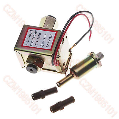 12V Facet Universal Electric Fuel Pump 41500 Solid state Petrol 4-7psi 132.5LPH