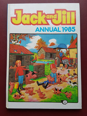Jack and Jill Annual 1985 - Hardback Book