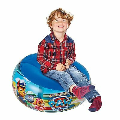 Paw Patrol Inflatable Chair Kids Childrens Boys Junior Furniture Free P+P