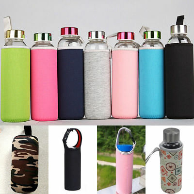 New Sport Water Bottle Case Insulator Bag Neoprene Pouch Holder Sleeve Carrier