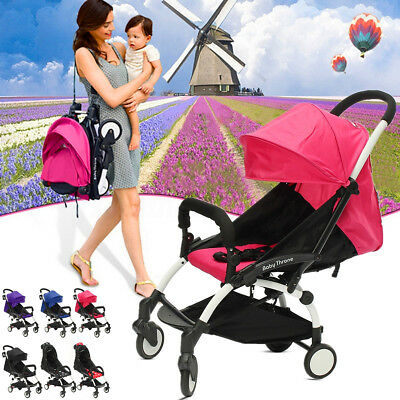 Portable Lightweight Mini Baby Stroller Travel System Pushchair Infant Carriage