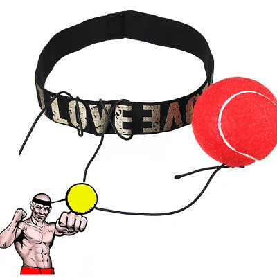 Boxing Punch Fight Ball & Head Band Dodge For Reflex Reaction Speed Training