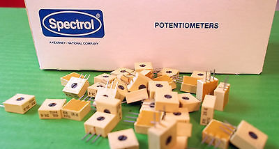 Trimmer 2K Ohm 2,000 Ohms x 10pcs @£0.10p each or OFFER's Vertical PCB Mounting