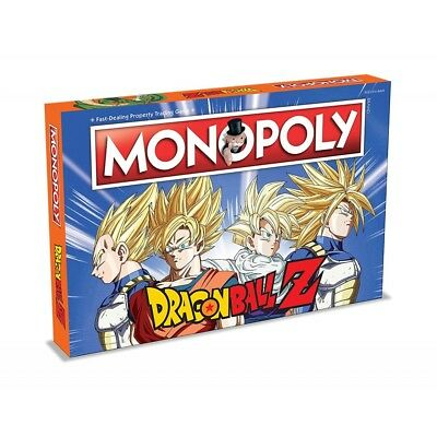 Dragon Ball Z Monopoly - Brand New!