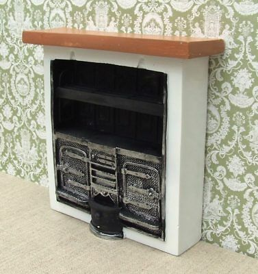 1:12 Dolls House Large Kitchen Range Cooker