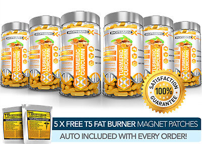 X6 Turmeric Curcumin Extract - Strongest Legal 14,000Mg Capsules 95% Curcuminoid