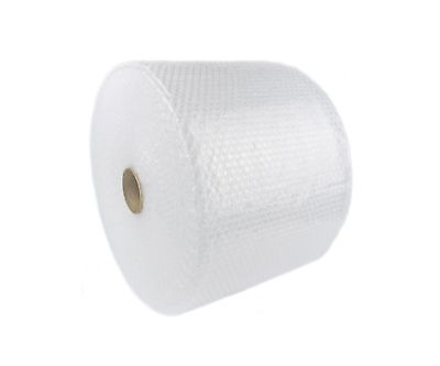 """Bubble + Wrap 5/16"""" 375 Ft. X 12"""" Medium Padding Perforated Shipping Moving Roll"""