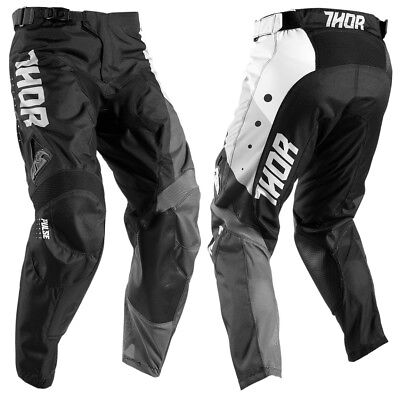 THOR Pulse Aktiv Cross Hose 2017 white/black Motocross Enduro MX MTB Puls