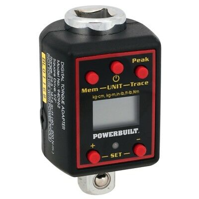 "Powerbuilt 1/2"" Dr Digital Torque Adapter - 940962M"