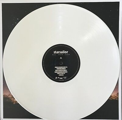 "Starsailor ""ALL THIS LIFE"" hand signed White Vinyl LP"