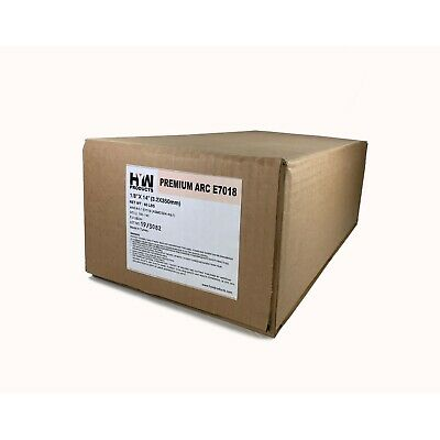 """10 lbs x 6 boxes E7018 1/8"""" Stick electrodes welding rod 60 lbs Free Shipping!"""
