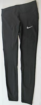 Nike Power Womens Dri Fit Running Tights 831647-010 Size M Retail $85
