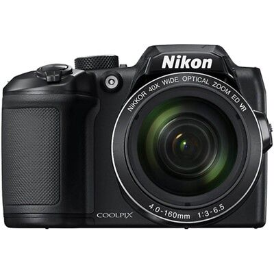 Nikon B500 COOLPIX 16MP 40x Optical Zoom Digital Camera w/ Built-in WiFi - Black