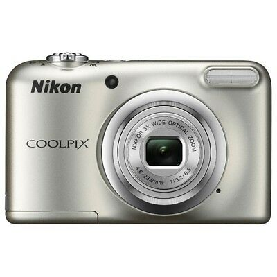 Nikon A10 COOLPIX 16.1MP 5x Optical Zoom NIKKOR Glass Lens Digital Camera