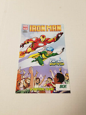 Marvel Comics BGE Promo Iron Man  Captain Mercaptan Baltimore Gas & Energy