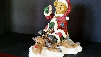 Boyds bears figurines Christmas collectible reindeer