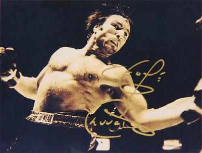 George Chuvalo Autographed 8x10 - Boxing