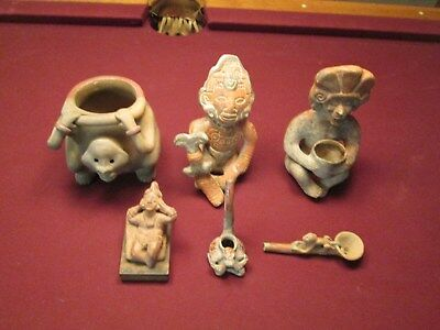 Pre Colombian Art - Likely Mexico Fakes but interesting