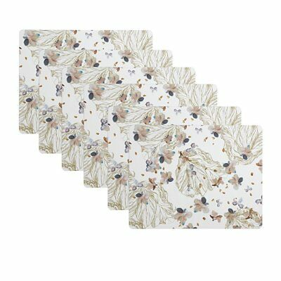 NEW Maxwell & Williams Drift Placemat White Set of 6