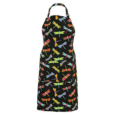 Dragonfly Delight APRON /Cotton Twill/Adjustable straps/One size/2 front pockets
