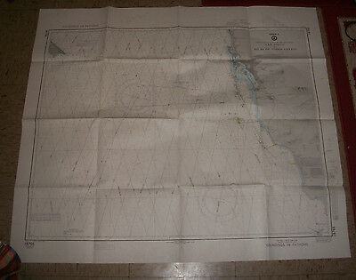 1983 Us Defense Mapping Agency Nautical Map Of San Diego California