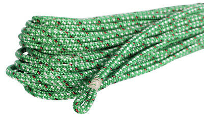 Dyneema Core 8mm X 40m w 25mm Spliced & Whipped Eye, Endura Green