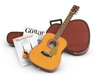 "American Girl AG Guitar Set with Instrument Case and Music Book 18"" dolls"