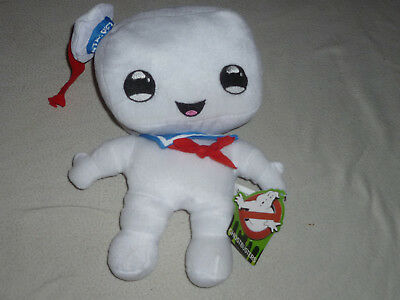 """9"""" Ghostbusters White Ghost plush stuffed Doll Toy Factory Who You Gonna Call"""