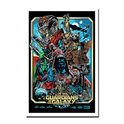Guardians of the Galaxy Vol 2 Movie Art Silk Poster Print 12x18 24x36 inch