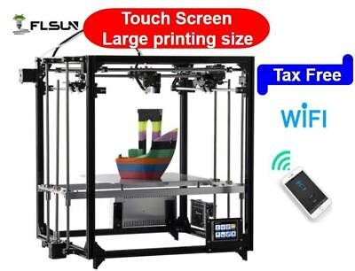 2017 New 3D imprimante Prusa i3 DIY KIT 3Dprinter Touch Screen +Auto leveling.