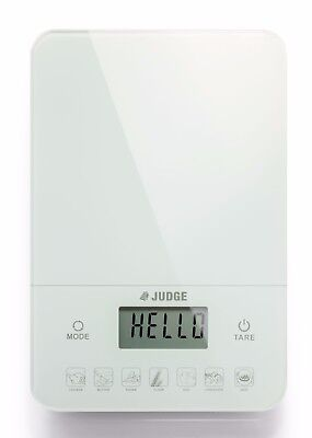 JUDGE One Touch Calorie Counting/Diet/Food Digital Kitchen Scales, Up to 10Kg.