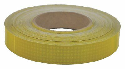 Oralite 10Year Rflct Tape, Agricultural, Poly, 1inW Yellow  Polyester  18656