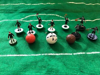 Football Cake Toppers / Decorations by Subbuteo - Referees, Balls, Goalkeepers
