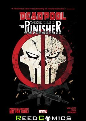 DEADPOOL VS PUNISHER GRAPHIC NOVEL New Paperback Collects 5 Part Series