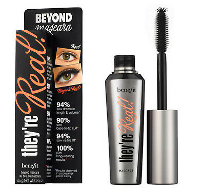 Benefit They They're Real Beyond Mascara Black 8.5g Eyelash Extension New UK