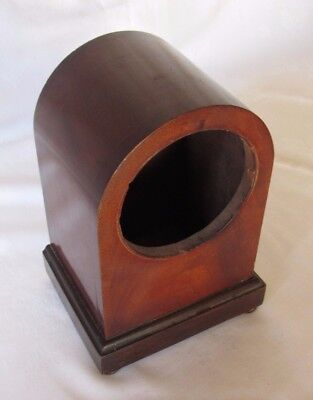 Very Nice Small Mahogany Mantle Clock Case