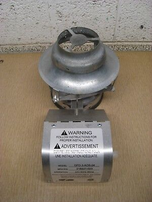 AO Smith Field Controls GFD-3-AOS-24 318441-000 Water Heater Vent Hood Damper