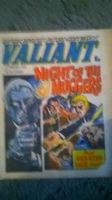 Vintage Battle and Valiant comics x 4 editions 1975, 176 and 1977.