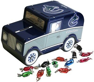 Vancouver Canucks Top Dog NHL Candy Truck Piggy Bank