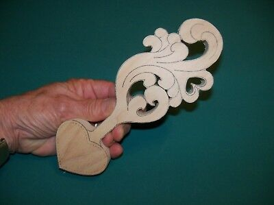 Love Spoon Basswood Roughout with Heart Cup and another Heart on the Handle