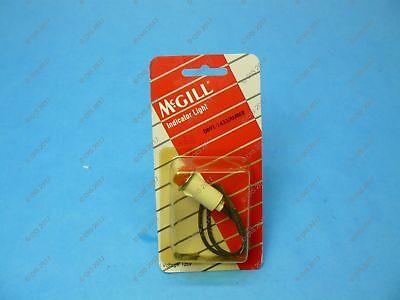 "McGill 0891-1433 Raised Style Indicator Light 1/2"" Diameter 125 VAC Amber"