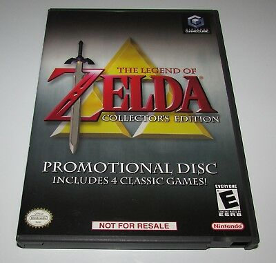 The legend Of Zelda Collectors Edition Nintendo GameCube Complete Fast Shipping!