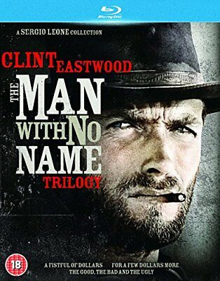 The Man With No Name Trilogy [Blu-ray] [DVD][Region 2]
