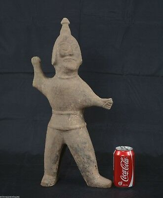 Ancient Chinese Western Jin Dynasty Warrior Figure 20 1/2 inches 2000 Years Old