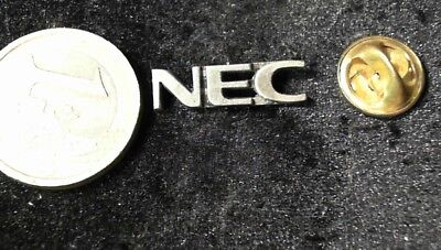 NEC Pin Badge Anstecker edel Logo