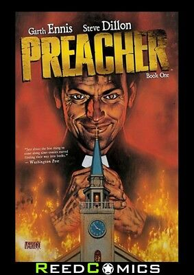 PREACHER BOOK 1 HARDCOVER New Hardback Collect Issues #1-12 + Extras Garth Ennis