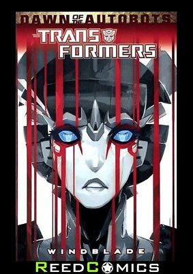 TRANSFORMERS WINDBLADE GRAPHIC NOVEL New Paperback Collects 4 Part Series
