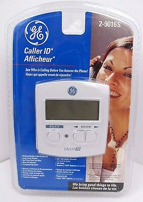 Ge General Electric 2-9016Sg White Caller Id Tested & Working