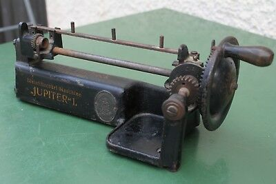 Antiker BleistiftanspitzerJupiter 1 Old German pencil sharpener/Guhl & Harbeck